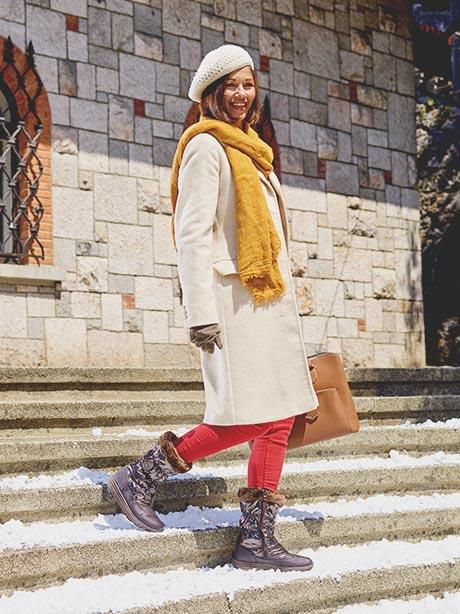 Ghete de iarna Walkmaxx Comfort High 3.0 pentru dame