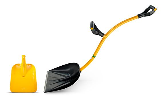 Top Shop Tornadica Ergonomic Shovel